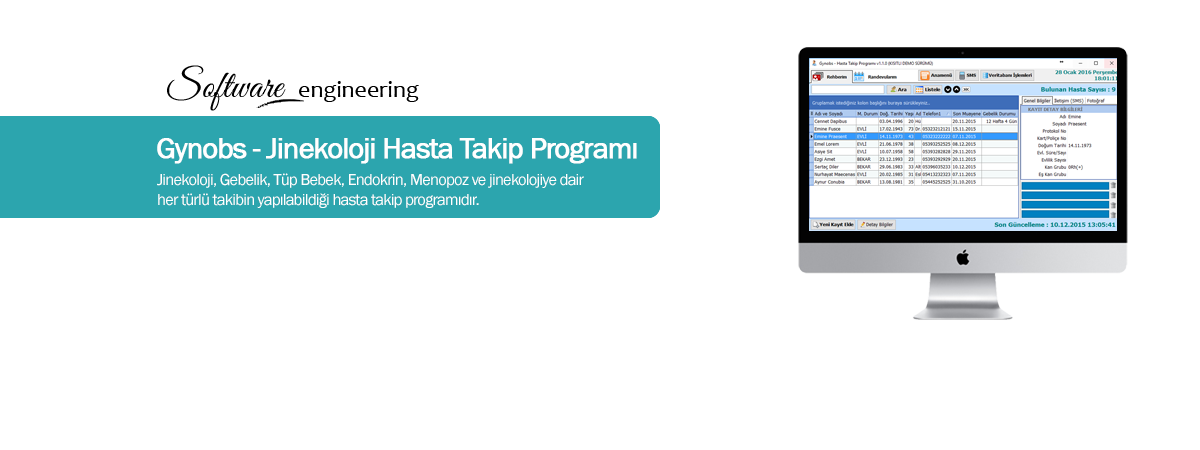 Gynobs - Jinekoloji Hasta Tekip Program�